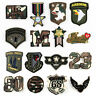 DIY Camouflage Embroidered Sew Iron On Badge Patches Clothing Fabric Applique