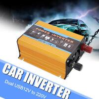 3000W DC 12V to AC 220V Auto Power Inverter Dual USB Charger Solar Converter