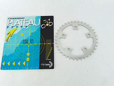 """T.A. Chainring 36T 94 BCD Zicral Aluminum TA  3/32"""" VINTAGE NEW LOGO NOS"""