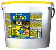 Clearance Tropical Malawi Flakes 5l and 21l Bucket Mbuna Cichlid Flake Food 5 L / 1kg