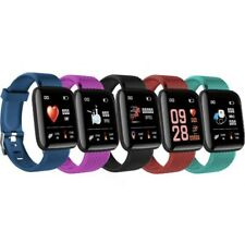 FitPro for iOS/Android Fitness Smart Watch & Activity Tracker (Black/Blue/Green)