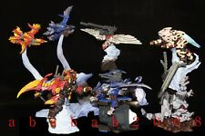 Tomy Zoids figure gashapon Part.1 (full set 7 figures with secret)