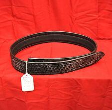 "Bianchi B2V 2.25"" Leather Sam Browne Belt with VELCRO Closure - Size 34 -"