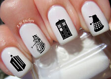 Doctor Who Nail Art Stickers Transfers Decals Set of 46