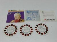 Pope John Paul II View-Master 3 Reel Packet Set K90 GAF