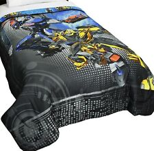 Brand New Transformers Twin Comforter - Kids Boy Aliens Soft Bedding - Free Ship