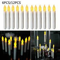6 / 12pcs LED lampeggiante decorazione creativa festa a lume di candela