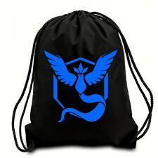 TEAM MYSTIC POKEMON DRAWSTRING BAG,GYM SACK,PE BAG,SWIMMING BAG