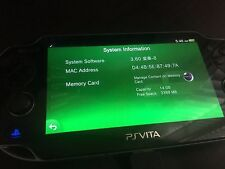 256gb PS Vita Henkaku 3.60 Hacked SD2VITA ALL games/emulators you want installed