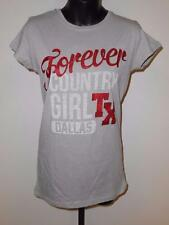 NEW FOREVER COUNTRY GIRL DALLAS TEXAS WOMENS size SIZE S SMALL Shirt 76UL