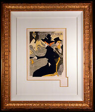 Divan Japonais 1895 Color Lithograph after Toulouse-LAUTREC