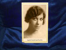FANNY BRICE Vaudeville Ziegfeld Star Cabinet Card Photograph Vintage RP