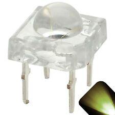 50 x LED 5mm Dome Superflux Warm Soft White Piranha LEDs Sign Lights Super Flux