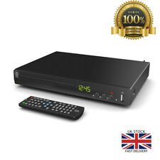 Compact DVD Player Multi Region HDMI USB Ports RC Watch Play Movies Music Format