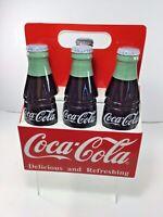 Vintage, 1996 Red / White Coca Cola Coke 6-Pack Cookie Jar