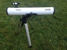 MEADE Electronic Digital Series White Telescope DS-114 Tripod *FOR PARTS/ AS-IS*