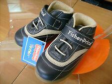 Scarpe shoes bambino FISHER PRICE  NR. 24   color beige e blu NUOVE!
