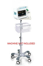 Roll mobile stand for Welch Allyn Connex 6300/6400/6500 monitor big wheel USA
