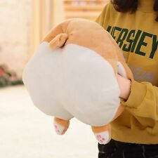 Novelty Corgi Dog Buttocks Hand Warmer Cartoon Animal Sofa Cushion Kids Pillow