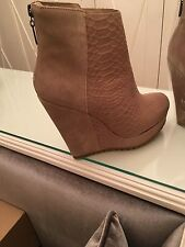 Women Brown Ankle boots Size 6 UK 39