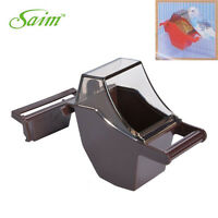 Bird Seed Feeders Feed Tray Feeder Cup Bowl for Parakeets and Small Birds