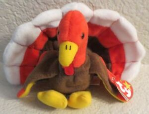 Ty Beanie Baby Gobbles 1996 5th Generation Hang Tag NEW
