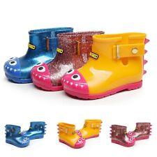 Children Dinosaur Print Waterproof Rain Boots Booties Kids Baby Casual Shoes