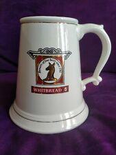 More details for large vintage whitbread ceramic quart tankard