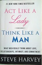 ACT LIKE A LADY THINK LIKE A MAN Steve Harvey -  Relationship Book - FREE POST