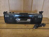 Vintage Panasonic FM14 | Boom Box AM/FM Cassette Player Recorder Shoulder Strap
