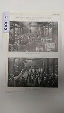 The Fried Krupp Establishments, Essen, Germany: 1912 Engineering Magazine Print