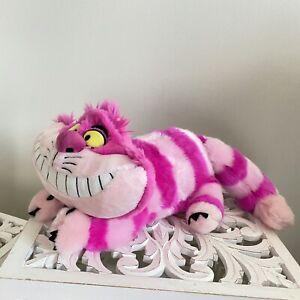 """disney store cheshire cat plush 20"""" Alice In Wonderland"""