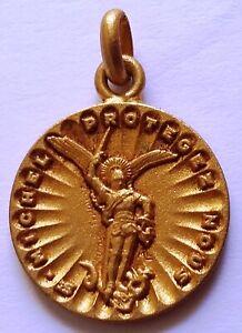 Médaille pendentif  Parachutiste SAINT MICHEL légion BEP REP TAP PARA ORIGINAL 2