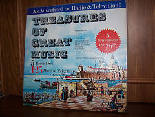 Treasures of Great Music - 5 Record Box Set 125 Selections KGB 589 NM/EX Canada