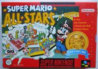 SUPER MARIO ALL STARS SUPER NINTENDO SUPER NES GIG ITALIA