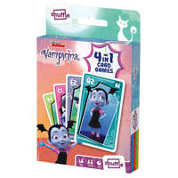 SHUFFLE FUN 4 IN 1 VAMPIRINA - Snap, Happy Families, Pairs and an Action Game