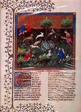 Gaston Phebus Le Livre de la Chasse Buch v.d. Jagd 92 Kaninchen hetzen u. fangen