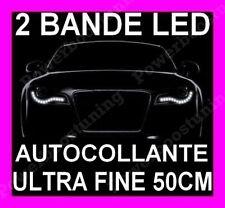2 BANDE LED SMD BLANCHE FEUX JOUR DIURNE FEU XENON PEUGEOT 205 405 605 DIESEL TD