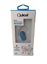 New listing Quickcell Mini Bluetooth Earpiece Color Burst Blue
