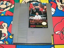 Mike Tyson's Punch-Out!! (Nintendo NES) Authentic/Cleaned/Tested - Boxing Game