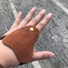 Outdoor Traditional Archery Glove Hand Protector for Bow Hunting Shooting J