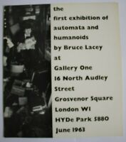 BRUCE LACEY, Automata, Humanoids, FIRST EXHIBITION, Gallery One Catalogue 1963.
