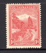 New listing Tasmania: 1d Red Pictorial Sg 238 Perf 12.5 Vc Wmk Upright Mh