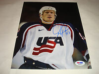 Jeremy Roenick Signed Team USA U.S.A. 8x10 Photo PSA/DNA Autographed a