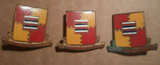 94th Aaa Aw Battalion Distinctive Unit Insignia - Cb - Pb -set of 3