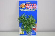 Aquarium Betta Plante Petit Plastique Papaye Plante Environ 12 cm X 10 CM