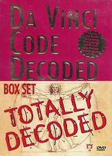 Da Vinci Code Totally Decoded ~ 3-Disc Dvd + Book Box Set