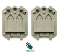 SPELLCROW Gothic Doors for Heavy Vehicles BITS 28mm COMPATIBLE TANK VEHICLE PDT