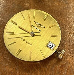 Longines Admiral Cal. 633.1 — 30mm Working Automatic Movement Vintage Watch