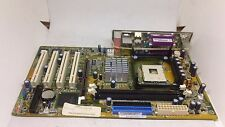 ASUS P4PE2-X REV 1.02 Socket 478 Motherboard W/ I/O Shield Plate TESTED WORKING